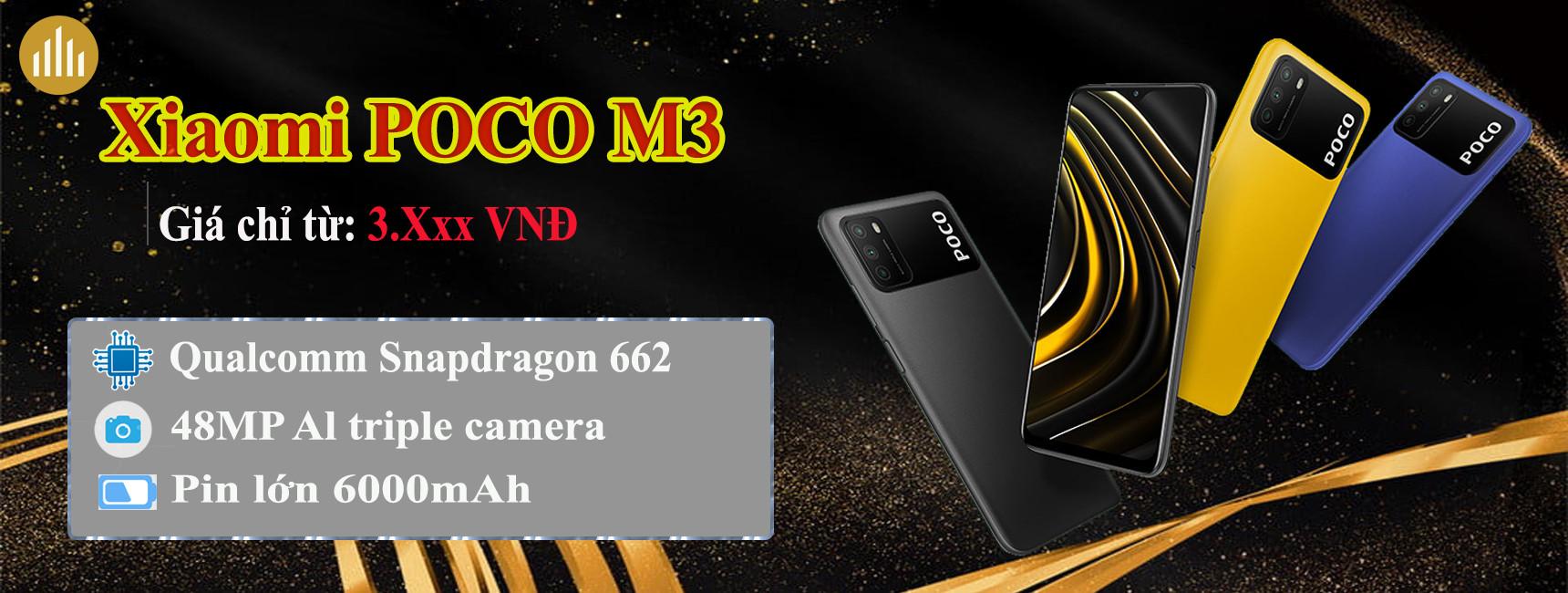 Điện thoại Xiaomi Poco M3 (Chính hãng DGW)